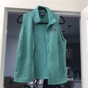 Patagonia Teal Better Sweater Vest